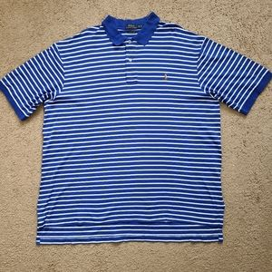 Polo Ralph Lauren Striped Polo Rugby Shirt 2XLT